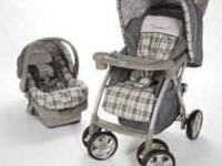 Eddie Bauer Carseat and Stroller combo! In good