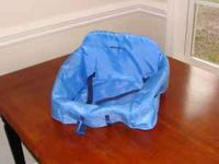 Eddie Bauer Blue High Chair Cover • Padded