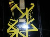 "I have for sale, a customized painted ""Bumblebee"" Eddie"