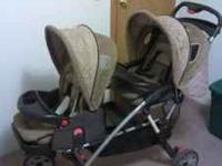 I have an Eddie Bauer Double Stroller for sale. This