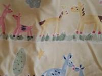 Eddie Bauer 5 pc gender neutral crib bedding set fitted
