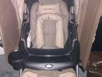 NICE EXCELLENT CONDITION EDDIE BAUER STROLLER TAN ONLY