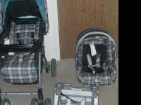 I have a cute matching stroller and car seat set. It is