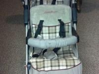 Very good clean stroller. I just don't need it and want
