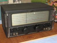 480kHz to 32mHz. BFO, Noise limiter, selectivity