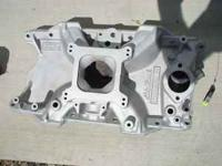 For sale: One Edelbrock Streetmaster aluminum manifold
