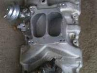 I have an Edelbrock intake manifold for a SB chevy for