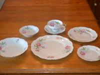 Edelstein Florence pattern # 18019. 12 servings (