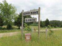 Cedar Ridge Ranch, in the Ozark Foothills Region, is an