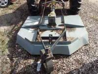 For sale is a Edge Attachment 5-Foot Wide Brushhog. It