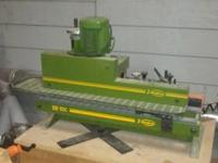 Hot air automatic bench mount production edge bander