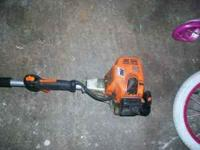 hi i have a good working grass edge cutter and if u