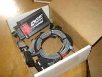 Edge products tuner for 5.9 Dodge diesel has cord to