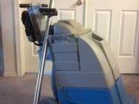 For sale an edic carpet cleaning machine with wand. No