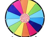 This Is Our Tabletop Color Prize Wheel Which Has A Dry