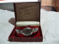 Eddox # 558-40054 Made in Swiss.Received as a gift in