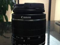 The EF-S 18-55mm f/3.5 -5.6 IS II Lens from Canon is a