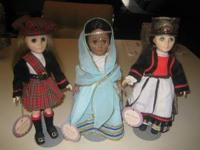 "I am selling 3 dolls from the ""Wonderful World of"