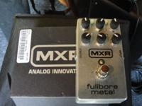 MXR fullbore Metal asking 60.00 ,DOD Stereo Chorus