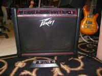 Peavey Transtube amp, and footswitch, very good