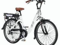 Ebike for Sale Stats: 26 Electric Step-Over Bicycle All