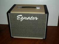 Egnater Rebel 112X closed back guitar extension cabinet