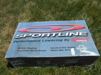 New in box, Eibach Sportline Lowering Kit. Model