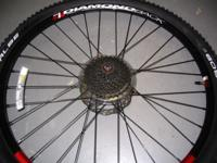 Diamondback Aluminum Wheel with Eight Gear Cluster.