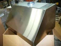 "Elan E2936SS 36"" Wide Pro Style Kitchen Ventilation"