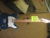 fender telecaster mexican made 6 string can be seen at