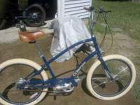blue male frame like new only ridden 4 times call or