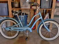 Used, but in good riding condition Electra Blue Hawaii