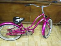 Electra Hawaii Girls Cruiser. Electra Tig Welded Foot