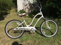 Electra Townie 3 Speed, Champagne color aluminum, step