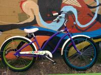 This is a aluminum beach cruiser that you can really