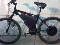 This is a 2014 granite peak bike with a 36 volt 800