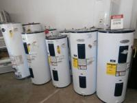 * Electric and Gas Hot Water Tanks with Warranty *.