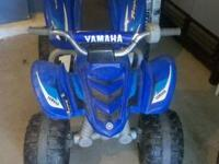 Sons electric ATV in great condition for $75 obo, the