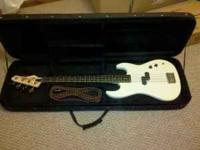 Santa Rosa Electric 4-string Bass Guitar. Plays great.