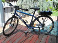 For sale in mint condition, Kona Dew bike with electric