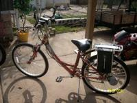 Nice Bike, has extra battery, lights, horn and more,