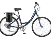 "26"" eZip Trailz Low Step Electric Bike 2years old with"