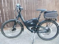 "High end electric bicycle by ""OHM""...retailed for over"