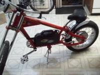 I'm selling my Crave Sport C450 electric bike/chopper.
