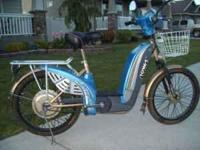 Electric Bicycle for sale for $649.00. Like new