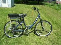 This is a Currie E Zip Electric Bike in great shape fun