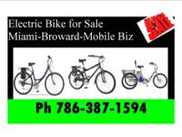 WE SELL ELECTRIC BIKES, BRAND NEW| WE ACCEPT CREDIT