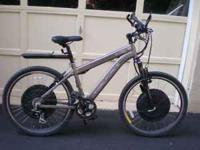 Tidalforce S-750 electric bike $1,200.00 Weight: 76
