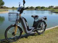 They travel up to 20 MPH and up to 30 miles per charge
