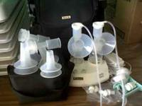 i have an electric breast pump. I never used it. I